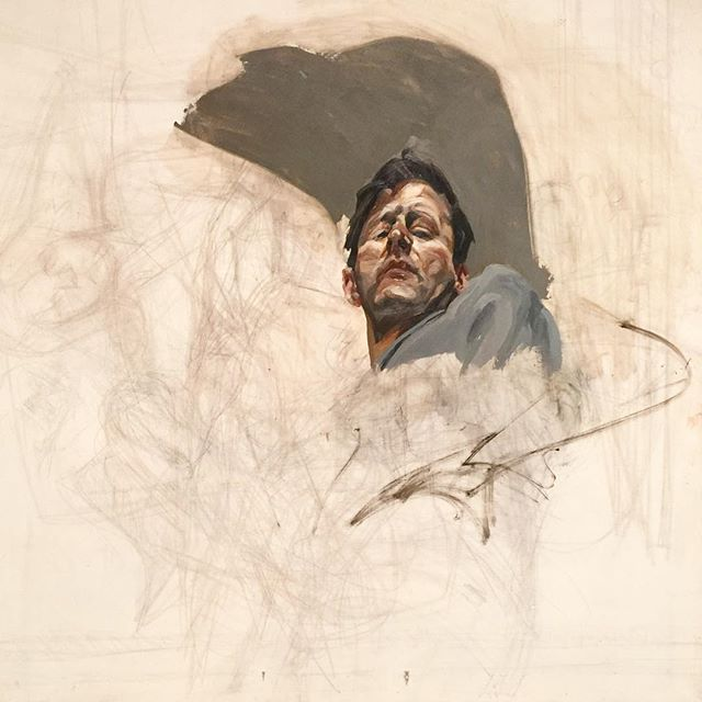 A-LucienFreud-self-portrait-1965